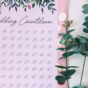 Wedding Countdown Poster